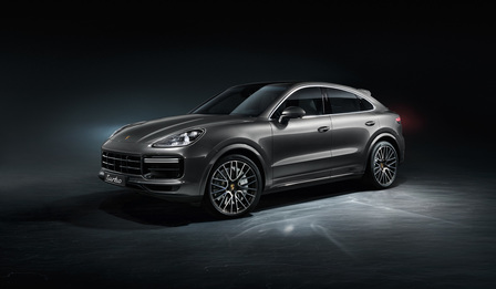 The Cayenne Turbo Coupé